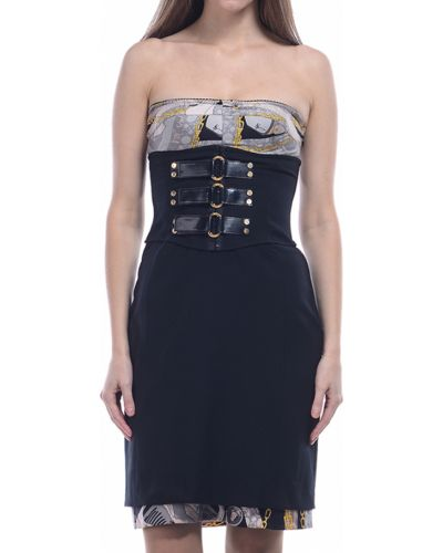 Платье из вискозы осеннее Via Delle Perle