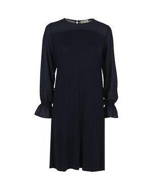 Платье из вискозы - синее Elisa Fanti