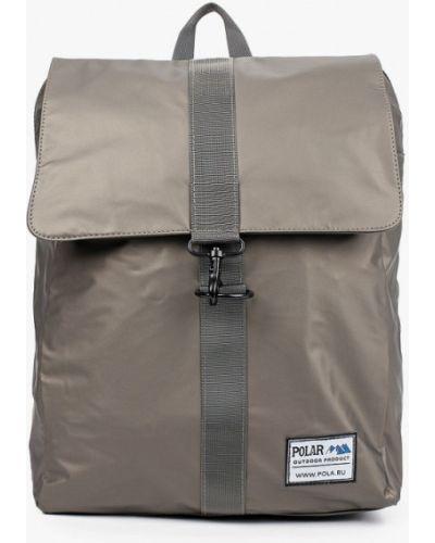 Текстильный городской рюкзак хаки Polar