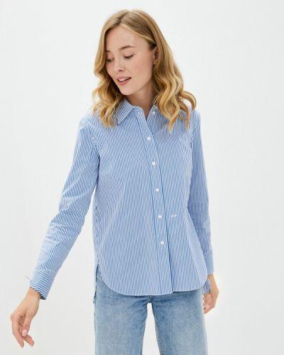 Синяя рубашка с длинными рукавами Joop!