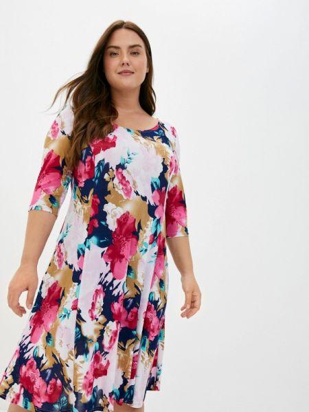 Повседневное розовое повседневное платье Blagof
