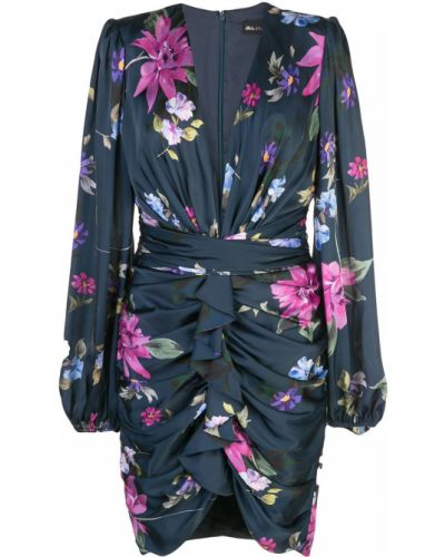 Платье с цветочным принтом с V-образным вырезом Jill Jill Stuart