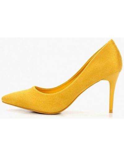 Туфли-лодочки на каблуке замшевые Damerose