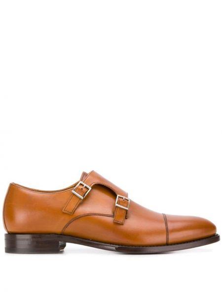 Туфли с пряжкой коричневый Berwick Shoes