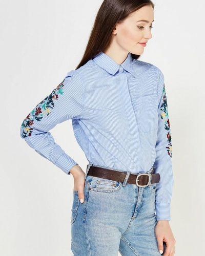 Голубая рубашка с длинным рукавом Brave Soul