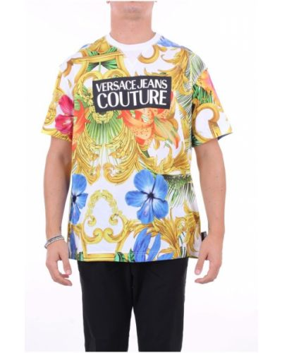 Z rękawami t-shirt Versace Jeans Couture