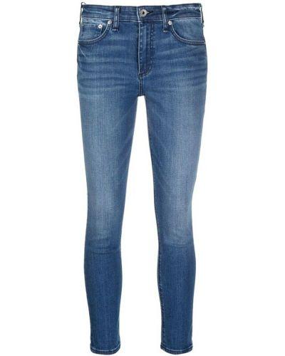 Mom jeans - niebieskie Rag & Bone