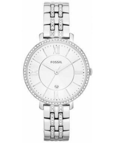 Biały zegarek Fossil