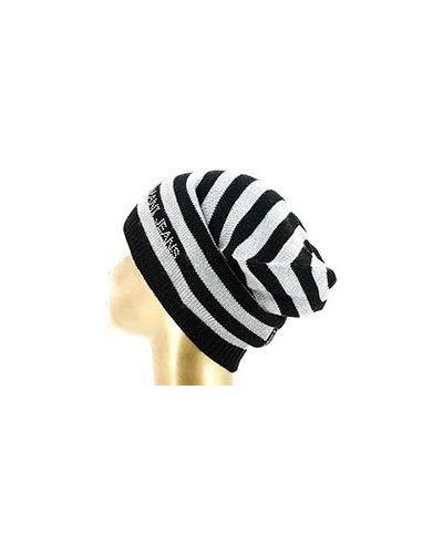 Черная шапка бини Armani Jeans