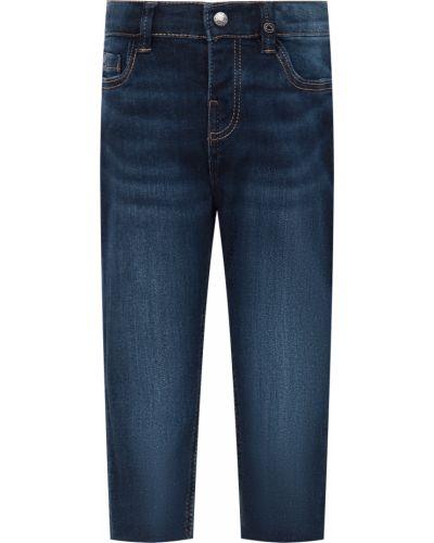 Хлопковые синие джинсы Mayoral