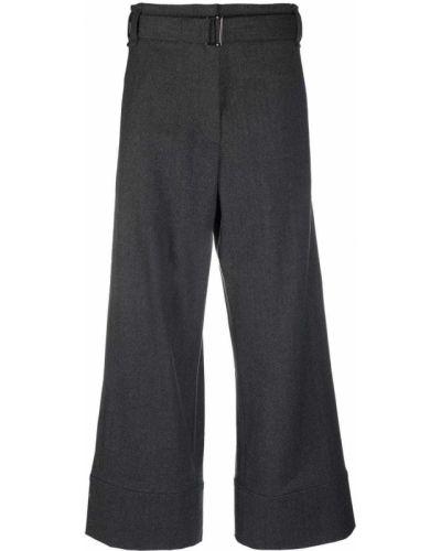Укороченные брюки - серые Odeeh