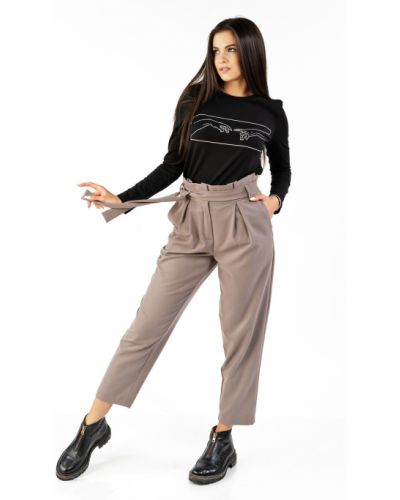 Свободные брюки с карманами свободного кроя Mari-line