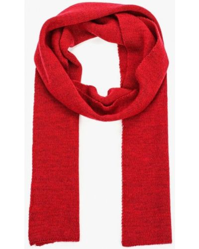 Бордовый шарф осенний Ferz