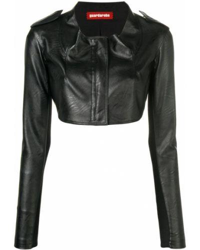 Черная короткая куртка Guardaroba
