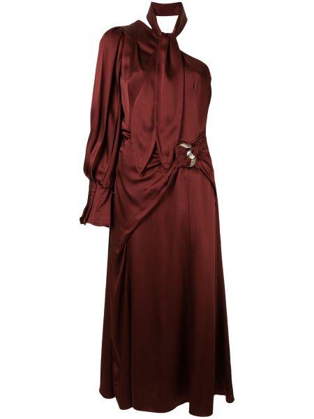Платье на одно плечо на молнии Peter Pilotto