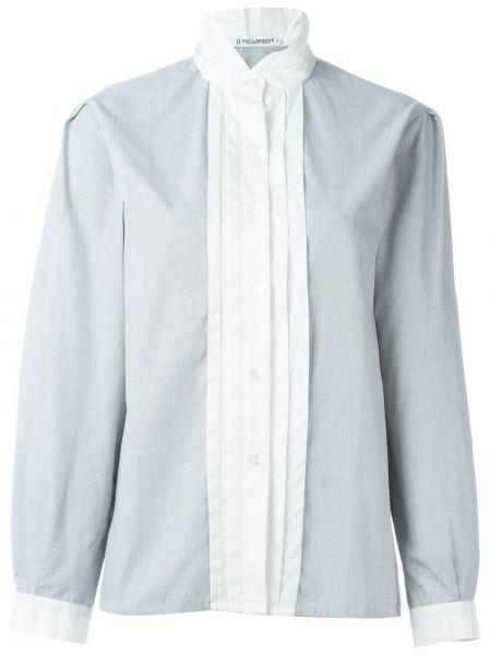 Однобортная рубашка винтажная на пуговицах Guy Laroche Pre-owned