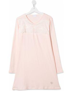 Koszula nocna różowy ażurowy La Perla Kids