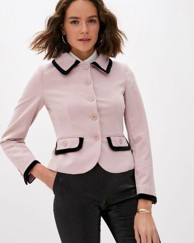 Розовый пиджак Blugirl Folies