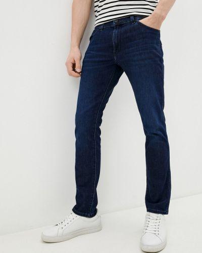 Синие зимние джинсы Wrangler