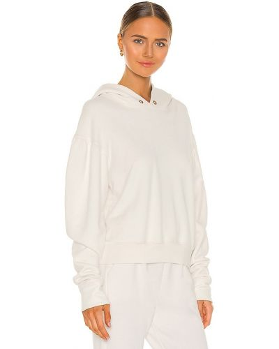 Bawełna skórzany bluza z kapturem A.l.c.