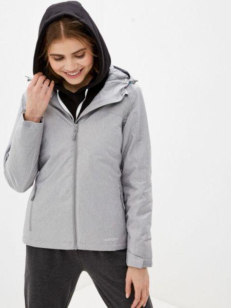 Горнолыжная куртка весенняя серая Outhorn