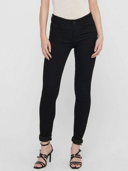 Черные джинсы-скинни Jacqueline De Yong