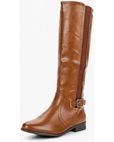 Кожаные сапоги осенние Style Shoes