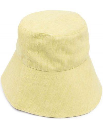 Żółty kapelusz materiałowy Bondi Born