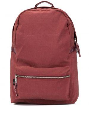 Pomarańczowy plecak z nylonu As2ov