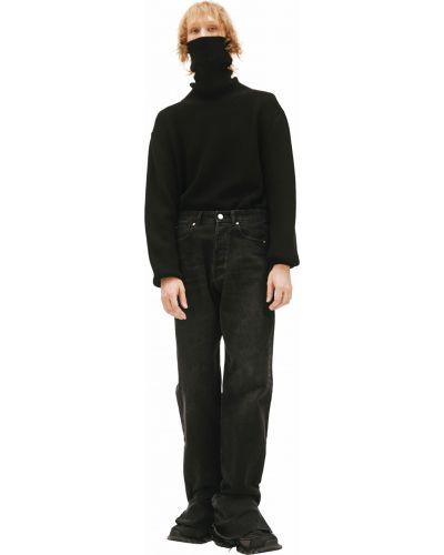 Черные широкие брюки Vetements