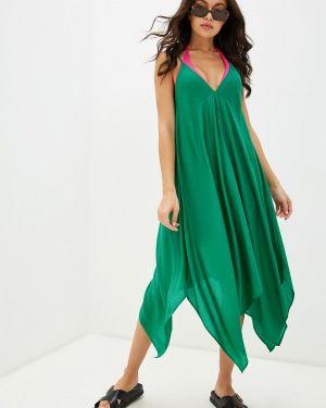 Пляжное платье - зеленое Seafolly Australia