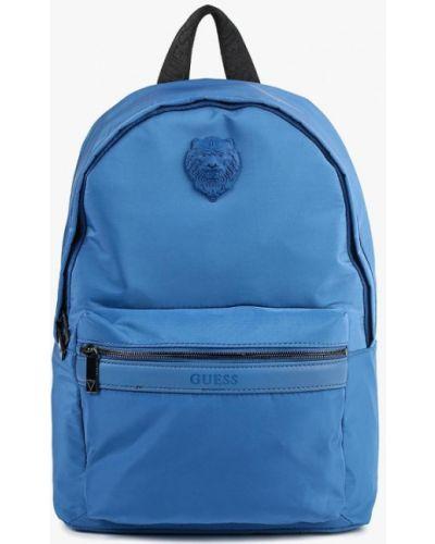 Рюкзак городской голубой Guess