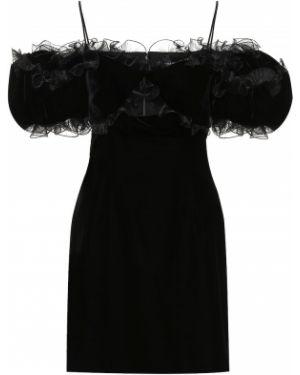 Платье мини через плечо модерн Givenchy