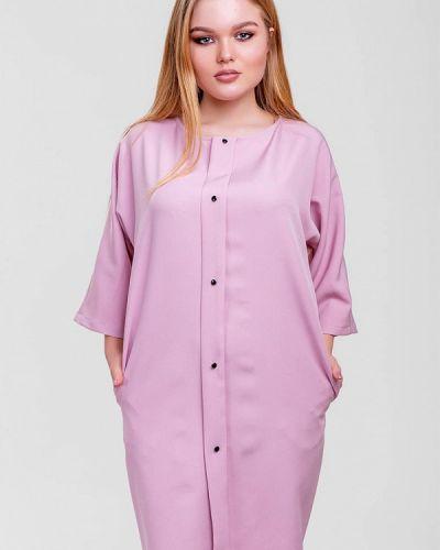 Розовое платье Sfn