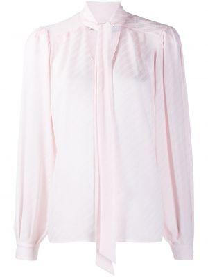 Bluzka z długim rękawem w paski z wzorem Givenchy