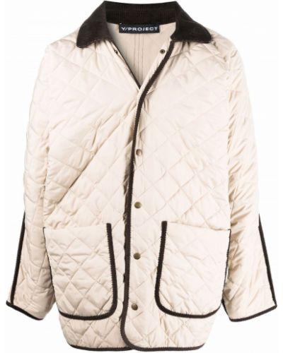 Коричневая стеганая куртка Y/project
