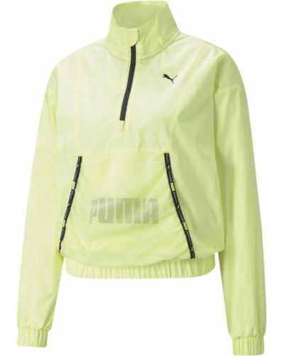 Желтая спортивная пуловер Puma
