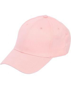 Różowy kapelusz bawełniany Famt - Fuck Art Make Tees