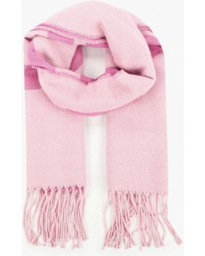 Розовый шарф осенний Befree