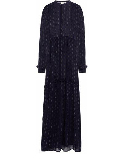 Пляжное платье макси - синее Cecilie Copenhagen