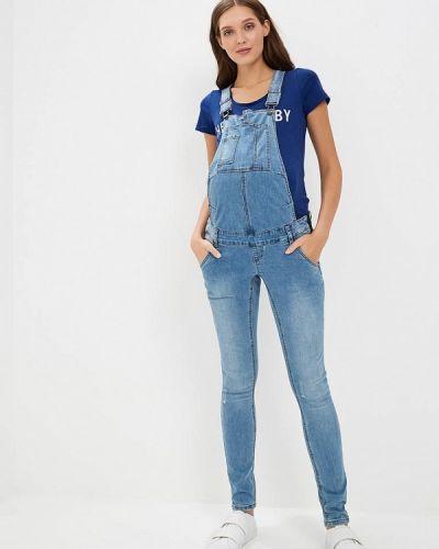 Синий джинсовый комбинезон Mama.licious