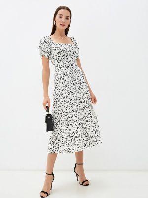 Белое платье а-силуэта Imocean