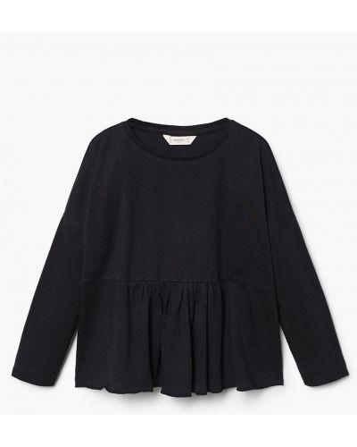 Блуза черная Mango Kids