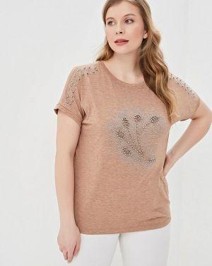 Блузка с коротким рукавом бежевый Milanika