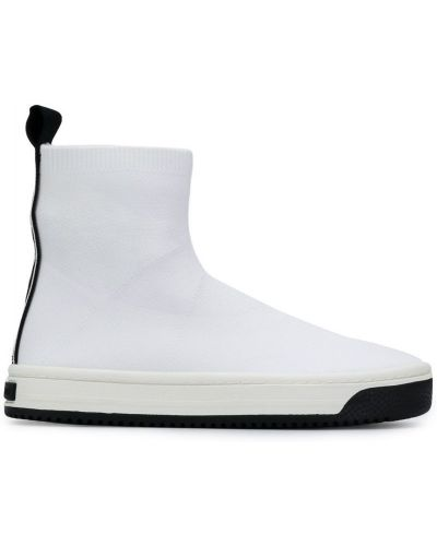 Белые носки высокие Marc Jacobs