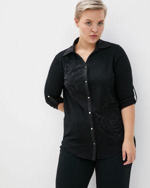Блузка с длинным рукавом черная Milanika