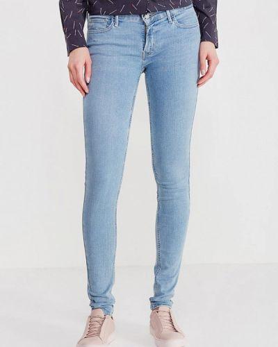 Голубые джинсы-скинни Levi's®