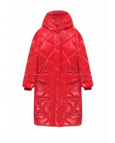 Красная теплая куртка I-am