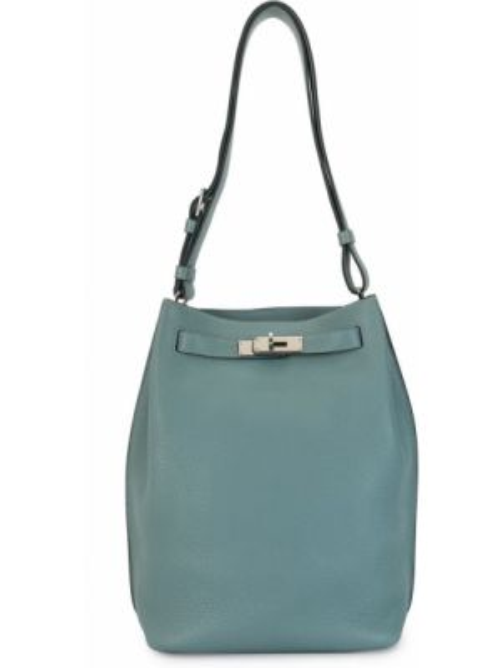 Спортивная сумка на плечо винтажная Hermès