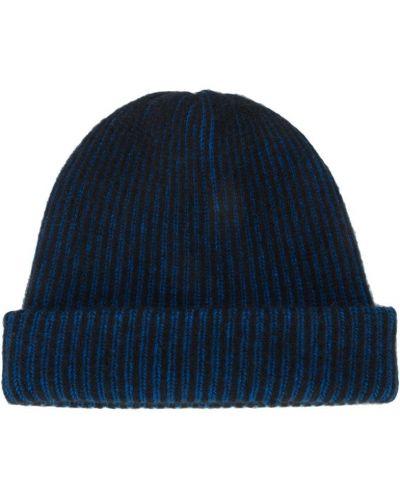 Синяя вязаная шапка The Elder Statesman